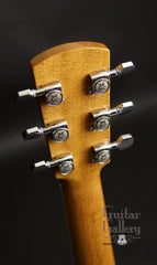 Larrivee LV-10 Koa custom guitar headstock back