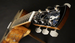 Larrivee LV-10 Koa custom guitar headstock inlay