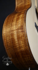 Larrivee LV-10 Koa custom guitar side