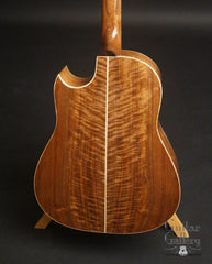 Langejans W-6 guitar figured walnut back