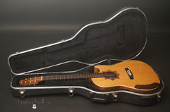 Langejans W-6 guitar inside case