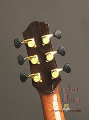 Beneteau African Blackwood Guitar headstock