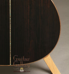Beneteau African Blackwood Guitar back