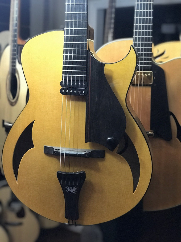 Marchione archtop guitar at Guitar Gallery