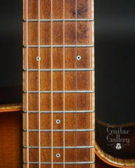 McKnight Mini Mac guitar Mesquite fretboard