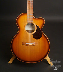 McKnight Mini Mac guitar Cedar top