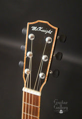 McKnight guitar headstock