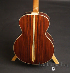 Froggy Bottom Guatemalan rosewood guitar back