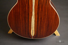 Froggy Bottom Guatemalan rosewood guitar back low