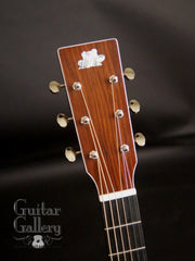 Froggy Bottom Guatemalan model M guitar headstock
