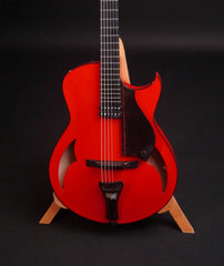 Red Marchione Archtop guitar at Guitar Gallery