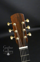 NK Forster model C guitar headstock