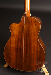 Galloup Northern Light guitar Brazilian rosewood back