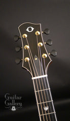 Olson SJ guitar bound headstock