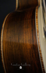 Olson SJ guitar Brazilian rosewood side