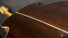 Olson SJ guitar straight grained Brazilian rosewood back