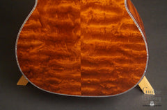 Osthoff OM The TREE Mahogany guitar low back