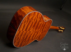 Osthoff OM The TREE Mahogany guitar back