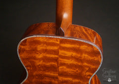 Osthoff OM The TREE Mahogany guitar  heel