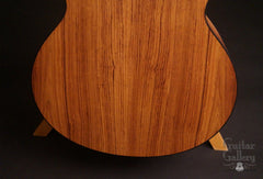 Lowden Pierre Bensusan Signature guitar back low