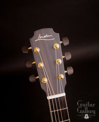 Lowden Pierre Bensusan Signature guitar headstock