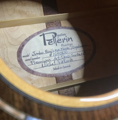 Pellerin guitar label