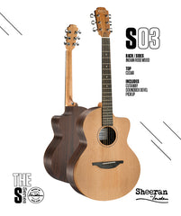 Sheeran S03 Guitar by Lowden