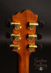 Santa Cruz custom F guitar headstock
