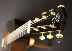Santa Cruz RS Guitar headstock