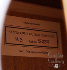 Santa Cruz RS Guitar