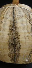 Froggy Bottom SJ-12 Spalted Maple Guitar back strip
