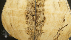 Froggy Bottom SJ-12 Spalted Maple Guitar low back