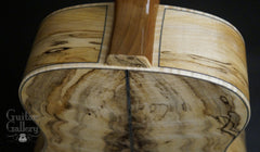 Froggy Bottom SJ-12 Spalted Maple Guitar heel grafts