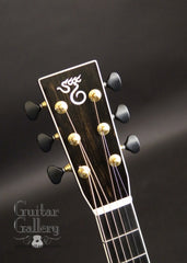 Santa Cruz OMG guitar headstock