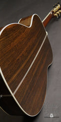Santa Cruz OMG guitar Indian rosewood back
