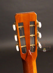 Square Deal guitar back of headstock
