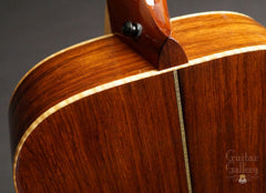 Square Deal guitar heel view