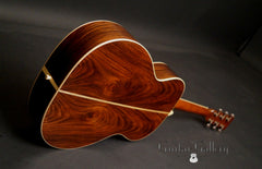 Martin SS-00L Art Deco guitar glam shot back