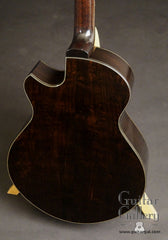 Strahm African Blackwood guitar back