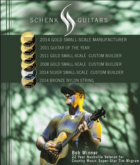 Schenk Guitars Awards