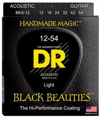 DR BKA-12 light acoustic guitar strings