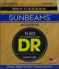 DR Sunbeams acoustic RCA-11 strings