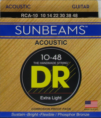 DR Sunbeams acoustic RCA-10 strings