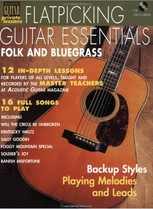 Acoustic Guitar Private Lessons Books, Videos & Instructional: CD included Flatpicking Guitar Essentials