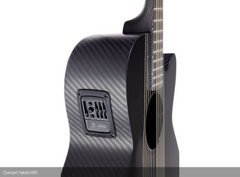 Rainsong CH-WS1000NS guitar side