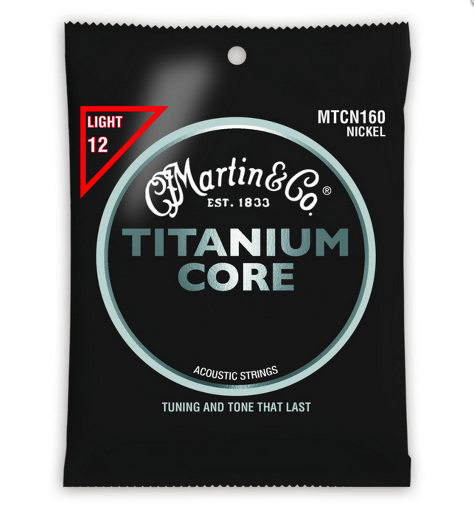 Martin MTCN160 Titanium Core Guitar Strings