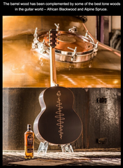 Bushmills X Lowden Guitar - Black Bush Edition
