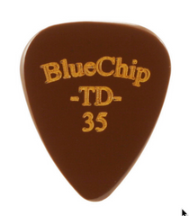 Blue Chip TD35 guitar pick