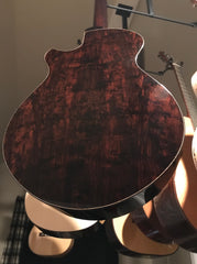 Strahm African Blackwood guitar beautiful back