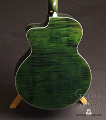 Taylor RNSM LTD 615ce Guitar green maple back